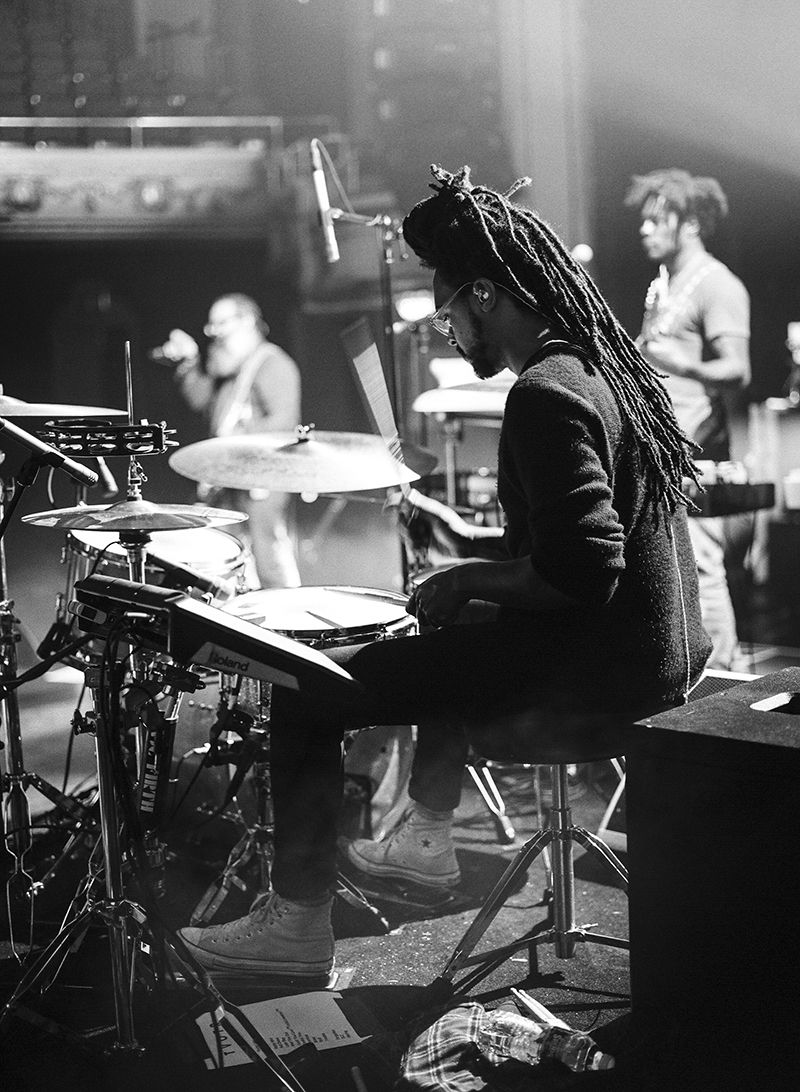 ROOFEEO OF TV ON THE RADIO - APOLLO THEATER, NYC - 2014