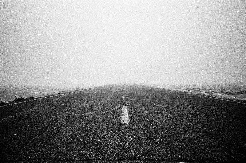 ROAD TO NOWHERE - BONNEVILLE SALT FLATS, UTAH - 2014