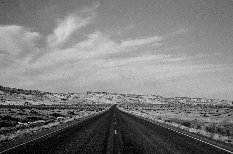 OPEN ROAD - GOBLIN VALLEY, UTAH - 2014
