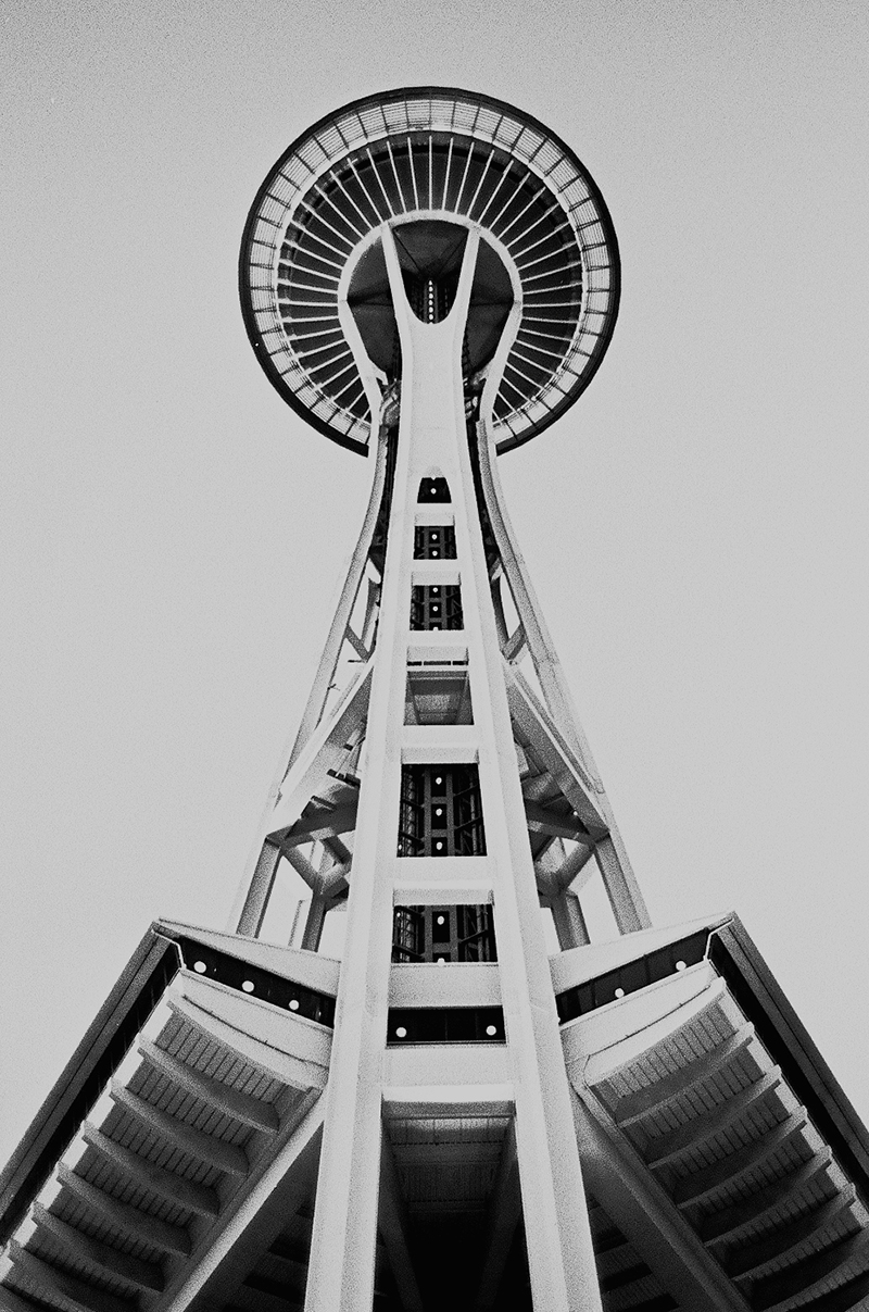 SPACE NEEDLE - SEATTLE, WASHINGTON - 2012