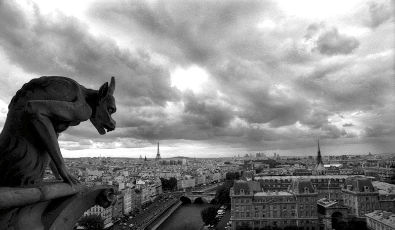 GARGOYLE - NOTRE DAME, PARIS - 2006