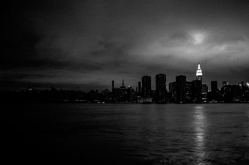 FADE TO BLACK - HURRICANE SANDY, NYC - 2012