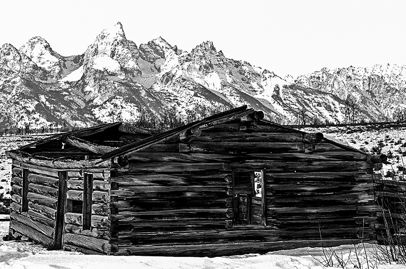 HOMESTEAD - GRAND TETON NATIONAL PARK, WYOMING - 2012