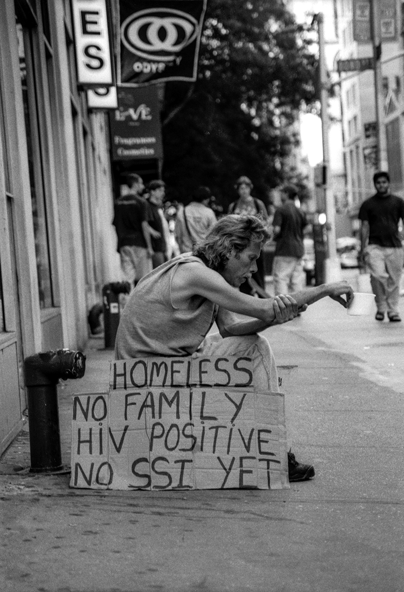HELP THE HOMELESS - NYC - 1992
