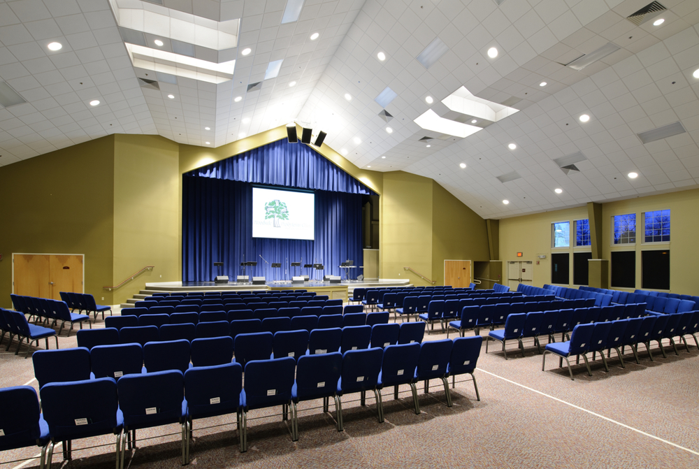 woodside presbyterian church, yardley, pa / 300 seats