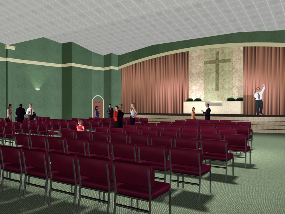 christian community church, Guaynabo, puerto rico / 400 seats