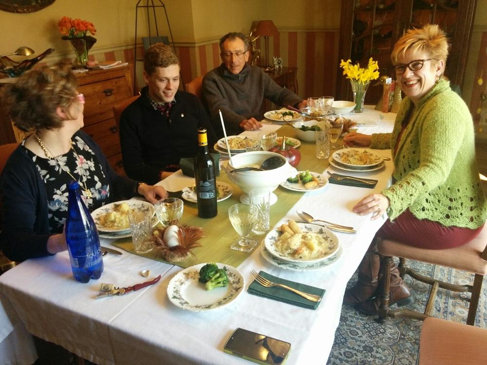 A family banquet