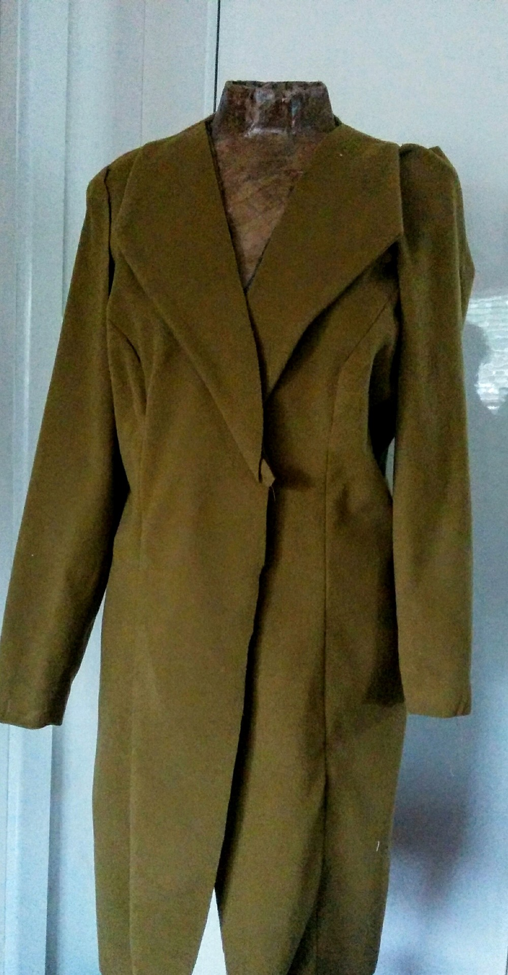 The Coat that was to be The Hero piece but sadly wasn't...