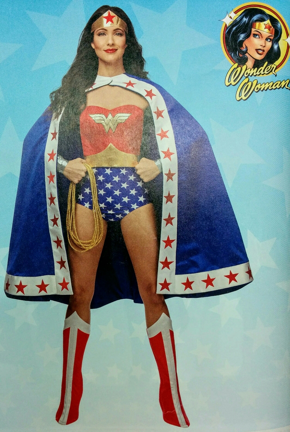 Wonderful Wonder Woman image from Simplicity.com