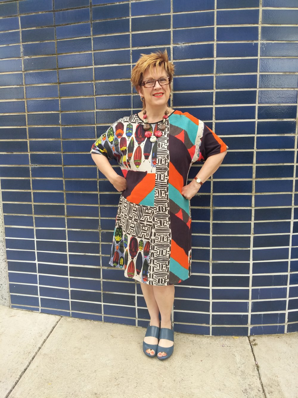 Self Drafted Dress