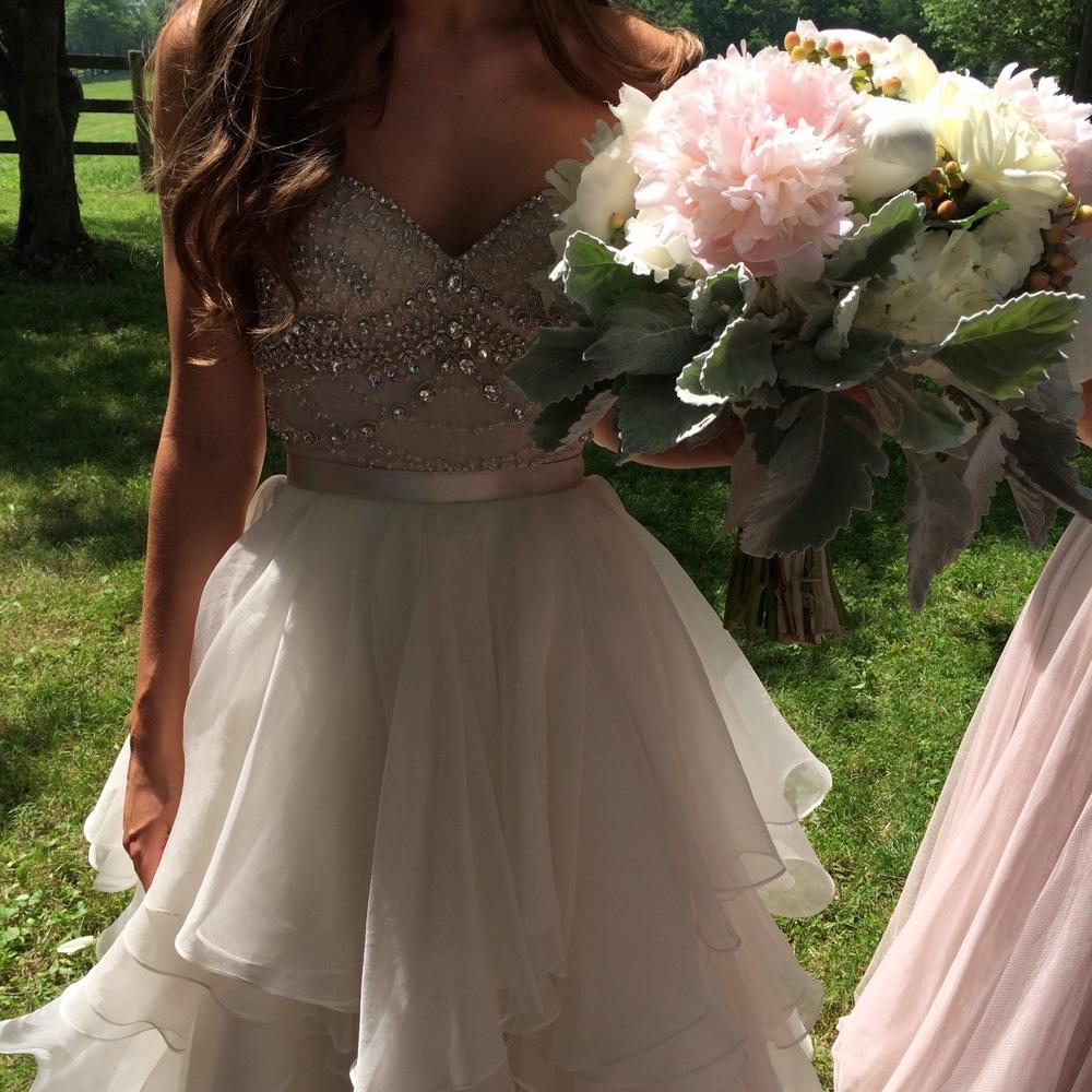 Watters Kian Corset, Watters Priya Skirt, Bridal Separates, Watters Bridal Separates