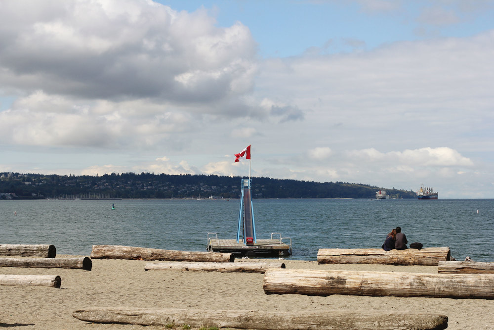 Vancouver Canada, English Bay Beach, Cactus Club Cafe