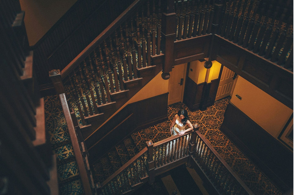 Me & Mr. Jones Wedding, First Look at Union Station Hotel, Bridal Portrait, Nashville Wedding