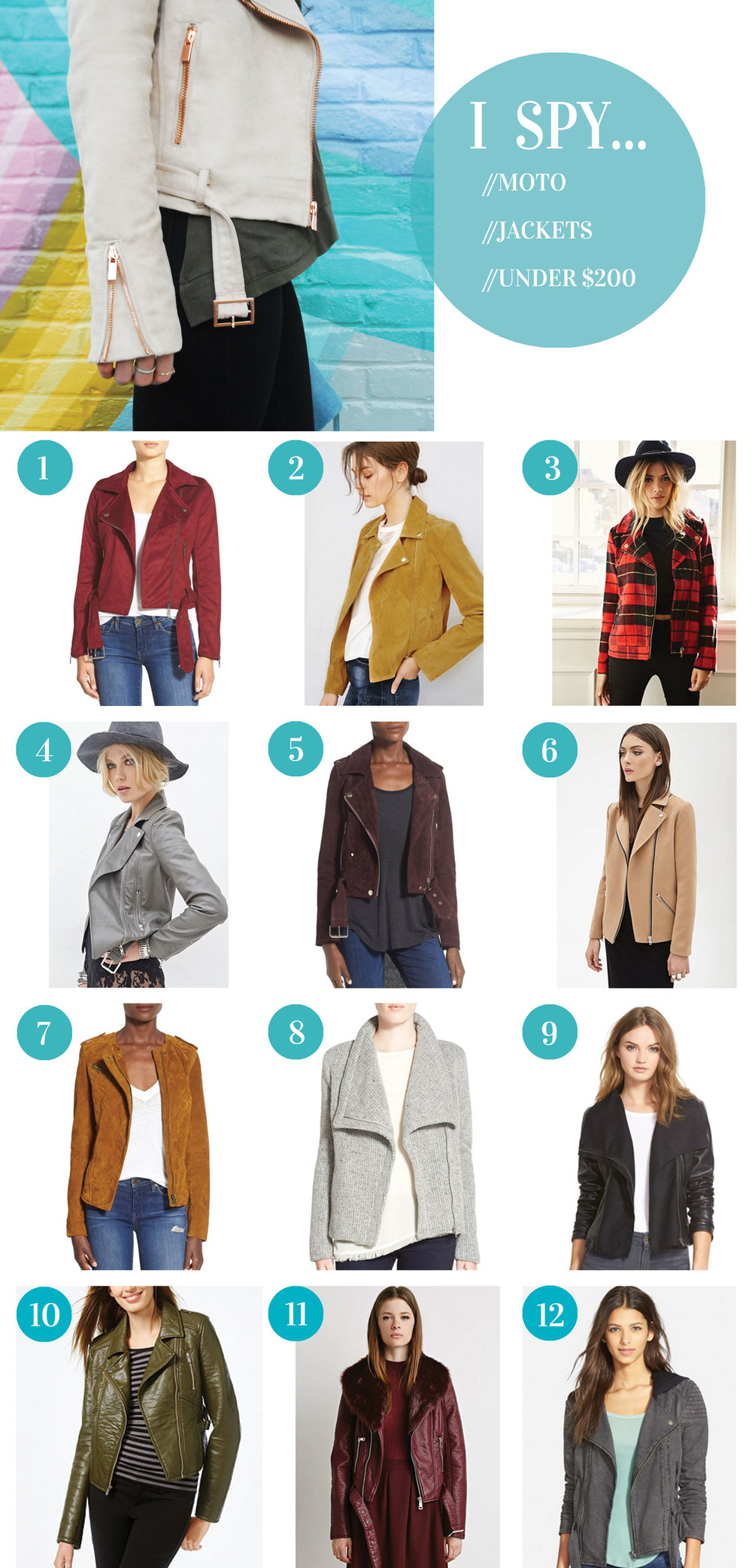 Motorcycle Jackets Under $200, Inexpensive Moto Jackets, Gift Guide For Her