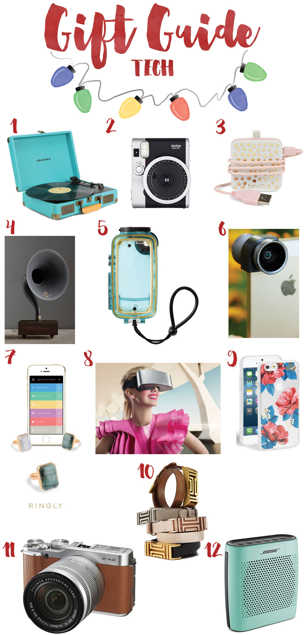 Tech Gift Guide Christmas 2015