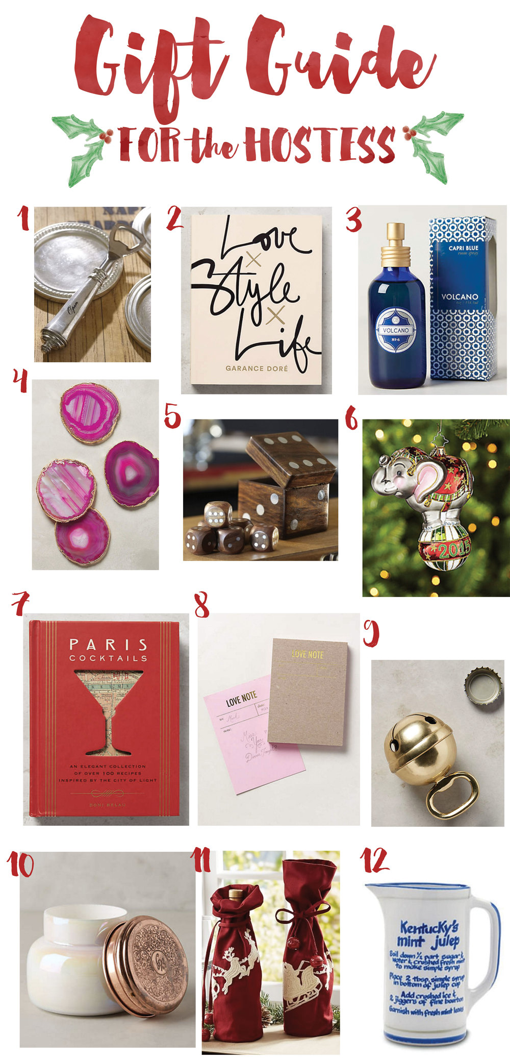 Hostess Gift Guide 2015