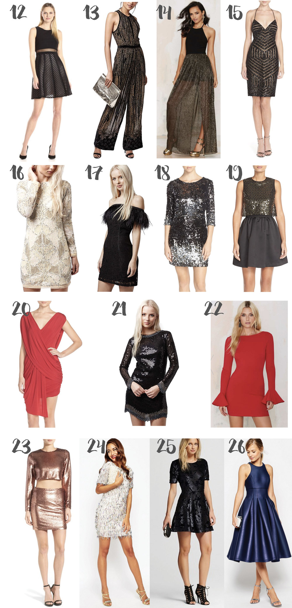NYE Party Dresses 2015
