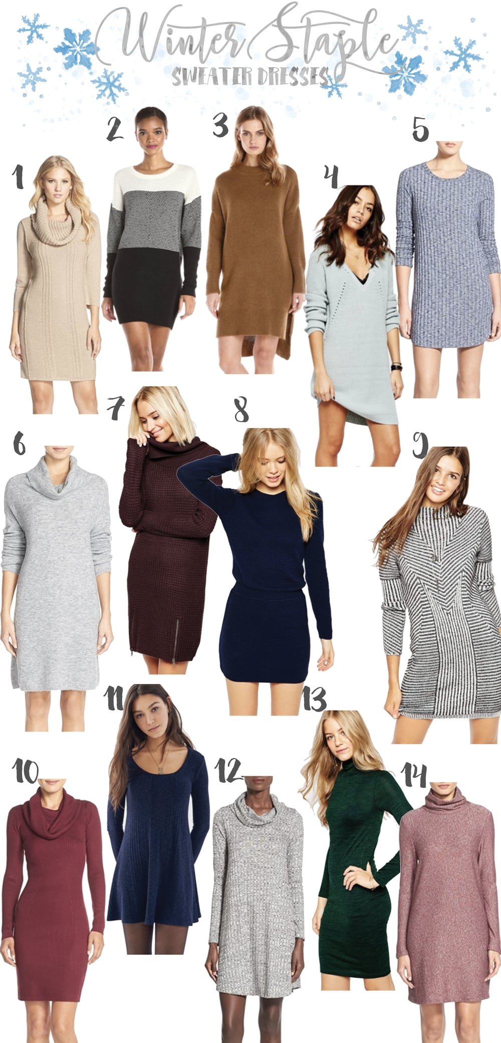 Budget Friendly Sweater Dresses Under $150