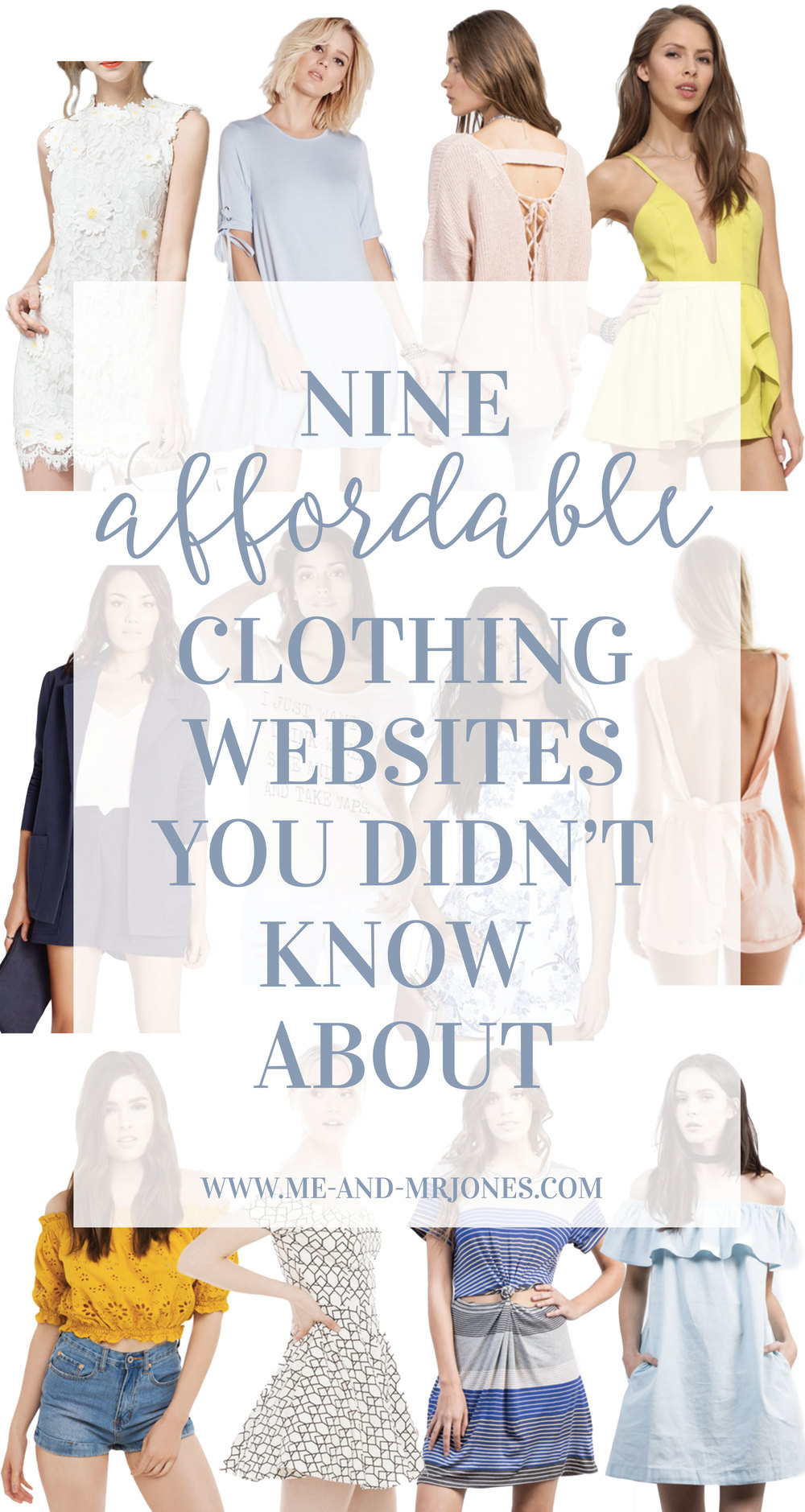 9 budget friendly online shopping websites for fashion forward women's clothing!