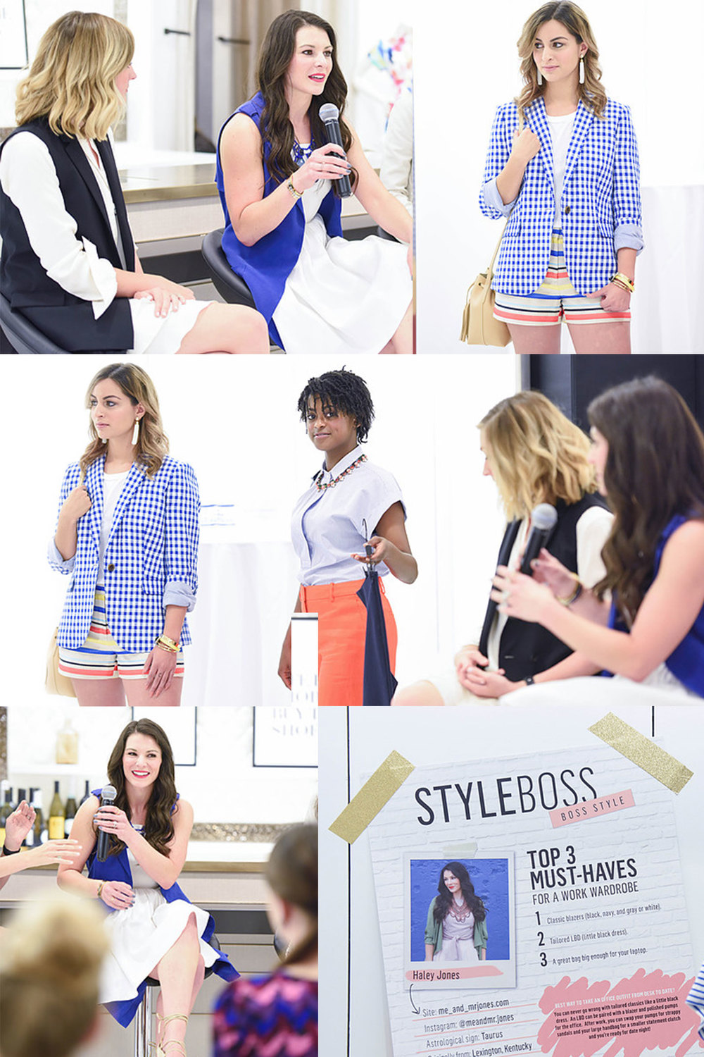 Style Boss Event at Westfield Seattle.  Stylish Summer Outfits for Work.  Overcome your fears and be the best #girlboss you an be!