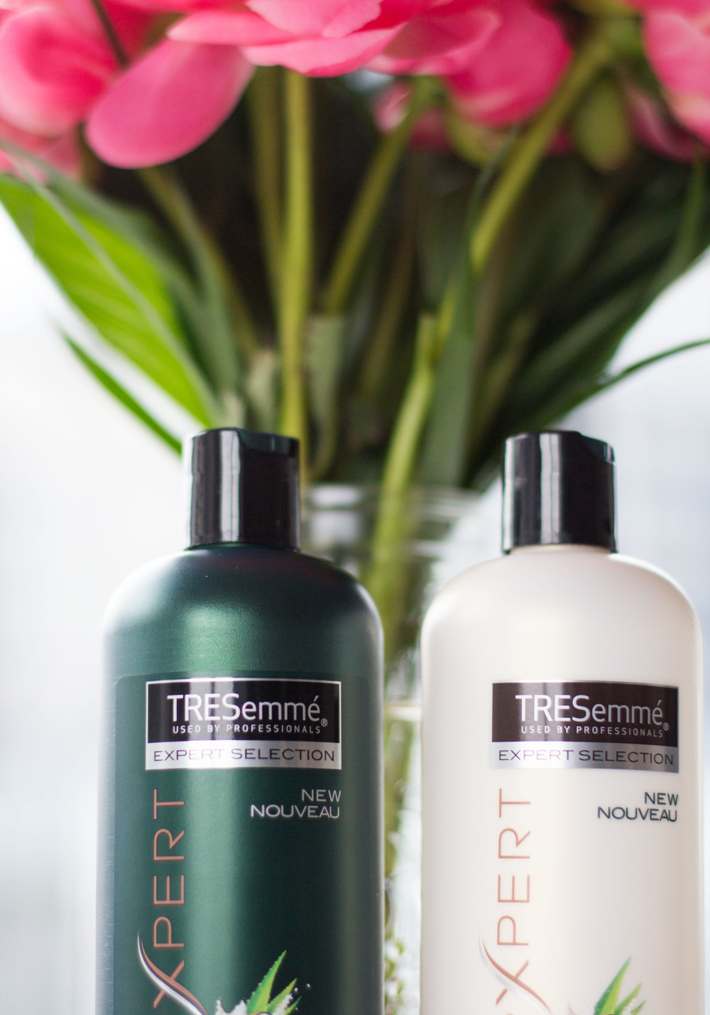 Inexpensive Tresemme Shampoo & Conditioner that smells amazing and is silicone-free!
