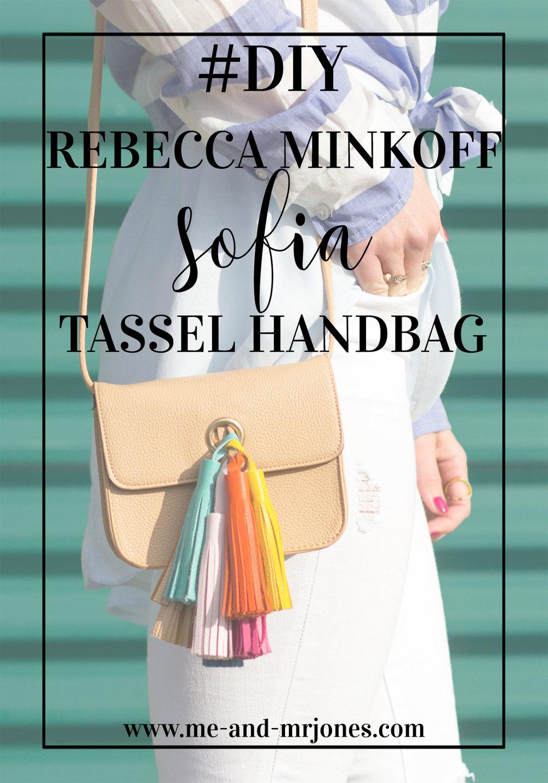 DIY Rebecca Minkoff Sofia Leather Tassel Handbag, Sofia Tassel Bag DIY