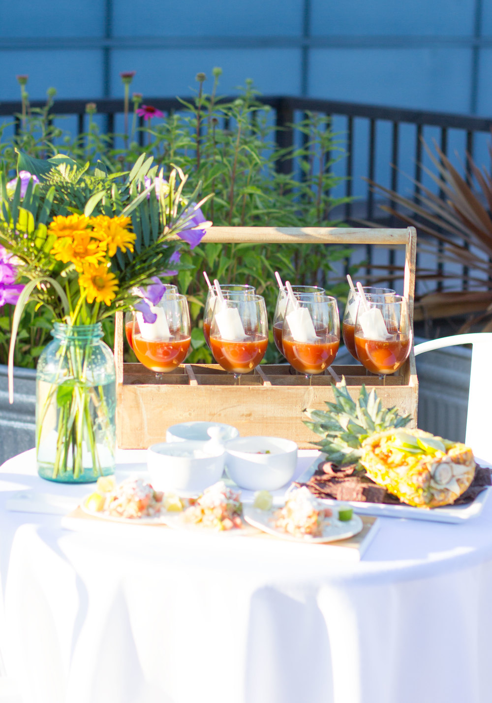 Summer BBQ ideas with Lipton tea, iced tea with lemon popsicles, pulled chicken tacos, and pineapple salsa! Sponsored pin.