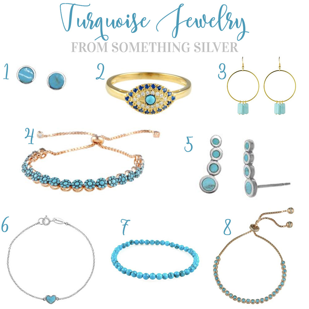 Summer Jewelry Trends 2016, Turquoise Jewelry from Something Silver on Me & Mr. Jones!