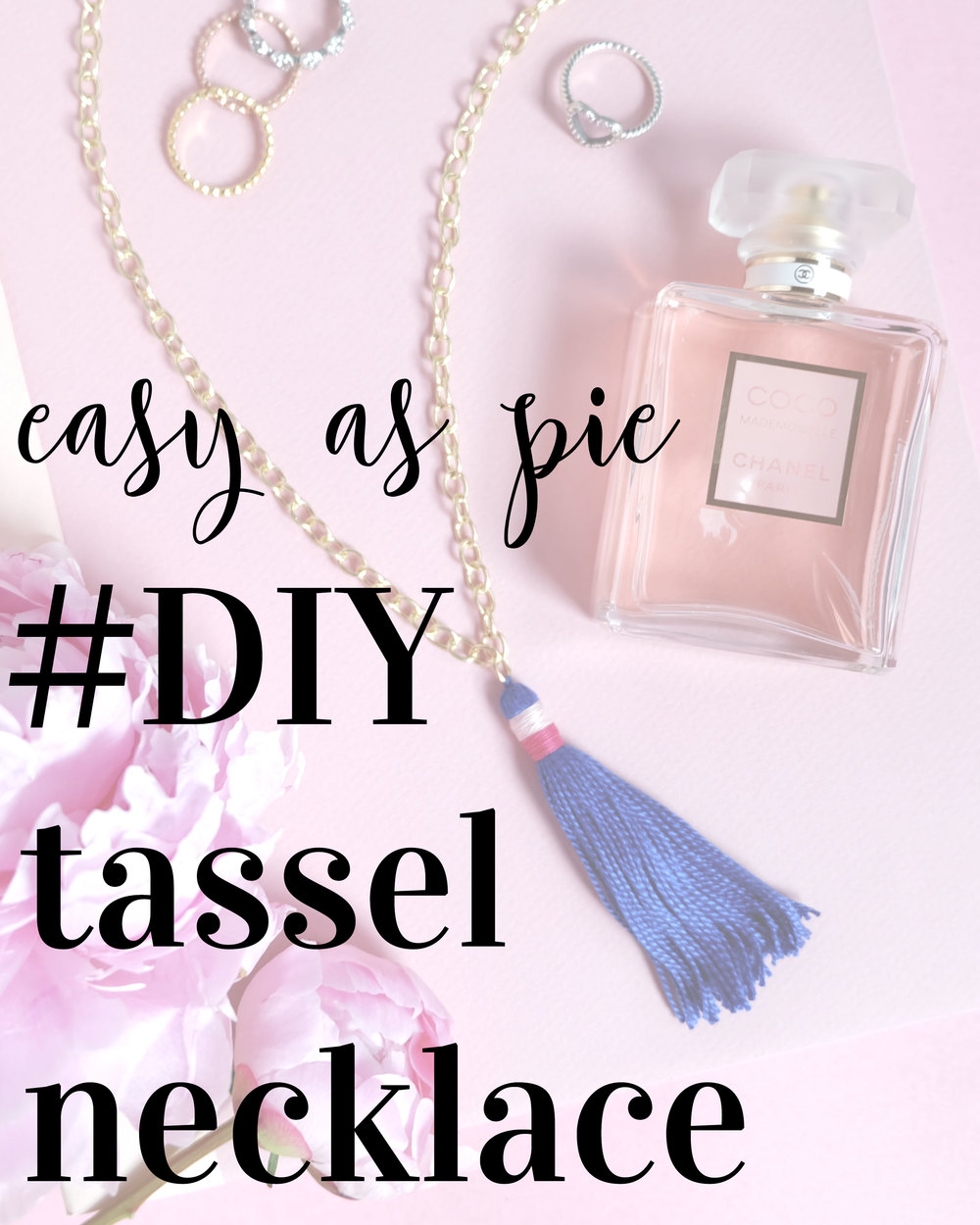 Easy & Inexpensive DIY Tassel Necklace, Summer Jewelry Trends 2016, DIY on www.me-and-mrjones.com!