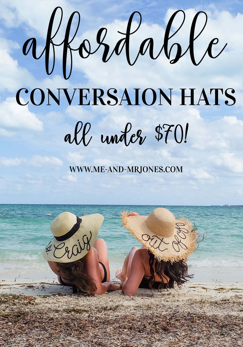 "DIY Eugenia Kim Conversation Hats, Affordable Versions of Eugenia Kim's ""Wish You Were Here"" Hats all under $70!"