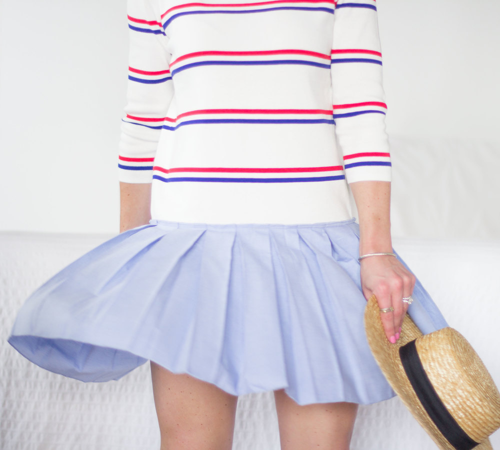 Cute dresses for July 4th, July 4th apparel you'll wear all summer on www.me-and-mrjones.com!