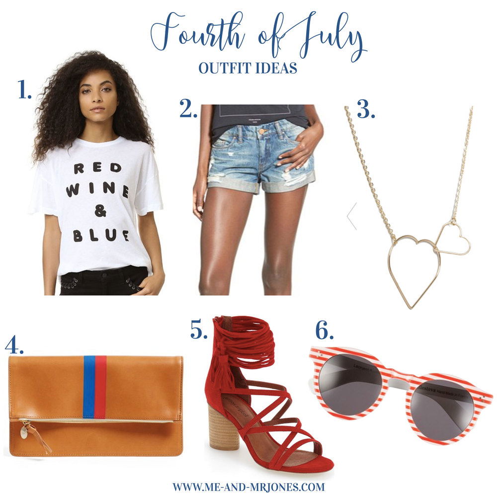 July 4th Outfit Ideas, Cute July Fourth Outfits, Cute Summer Outfits