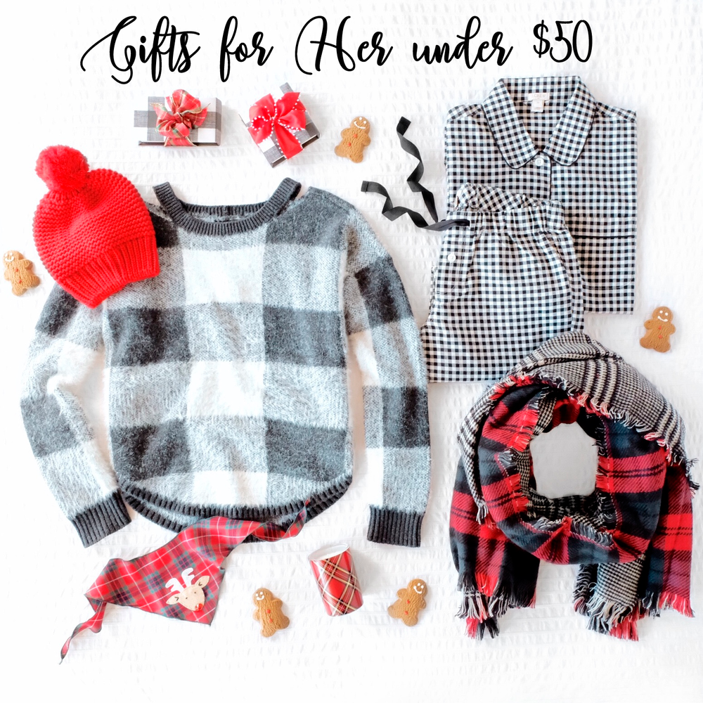 Inexpensive gifts for her, Gifts under $50 for women, unique gifts for her.