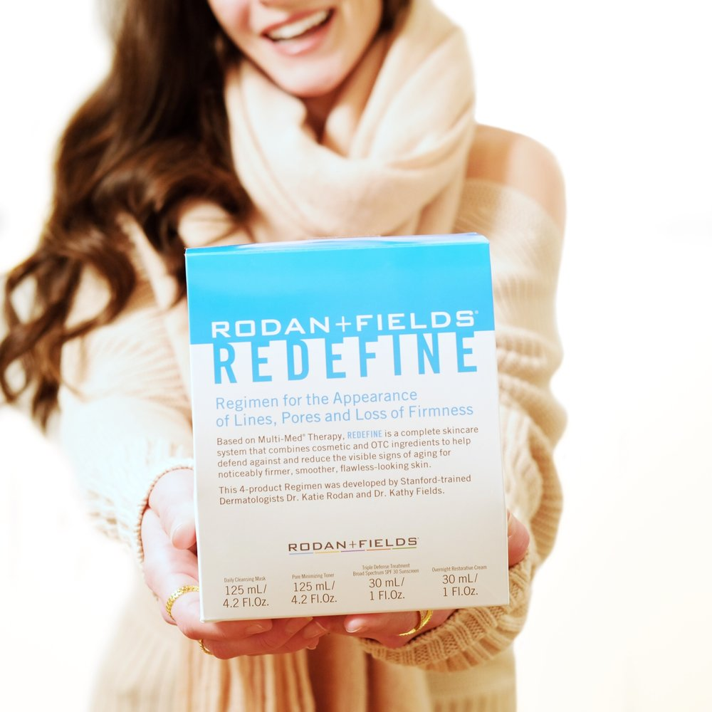 Rodan and Fields Redefine regimen before and after, Rodan and Fields Review