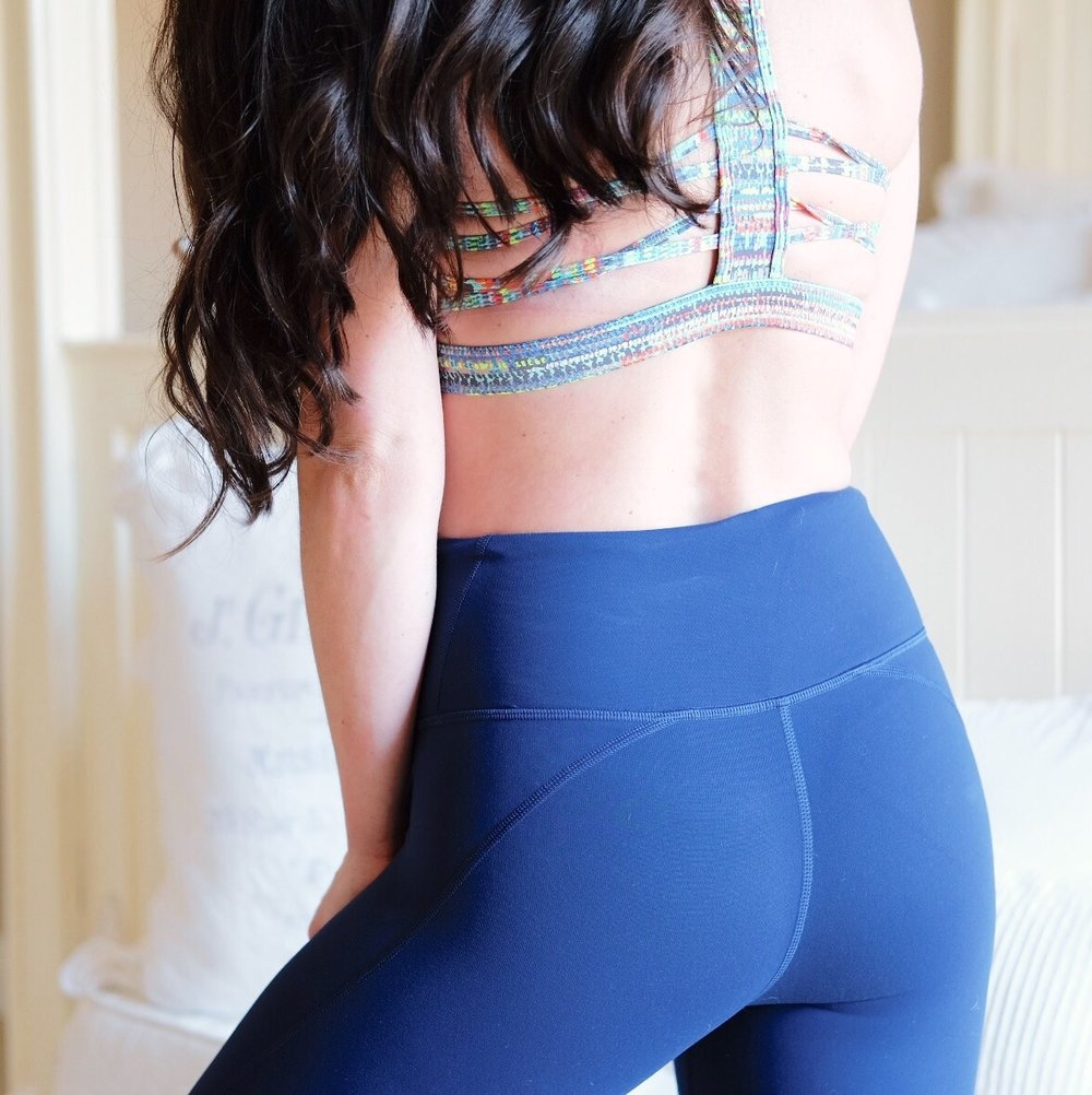 At home, no equipment workout to build your butt.  Booty builder workout you can do at home with no weights!