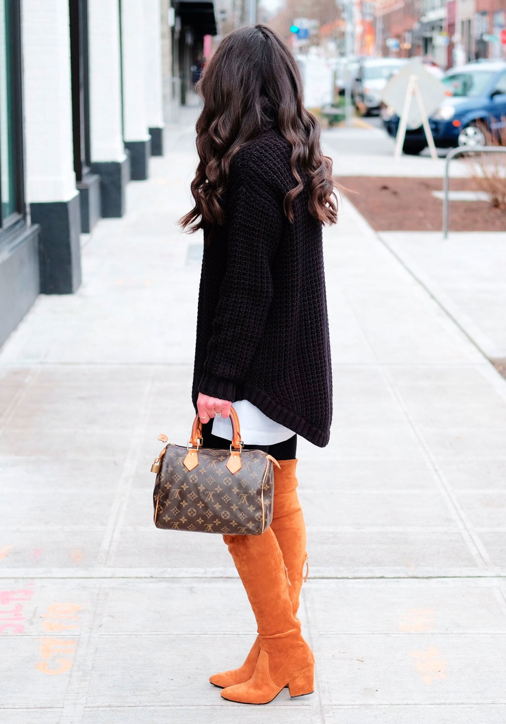 2844c02fe21a Over the knee boots outfit