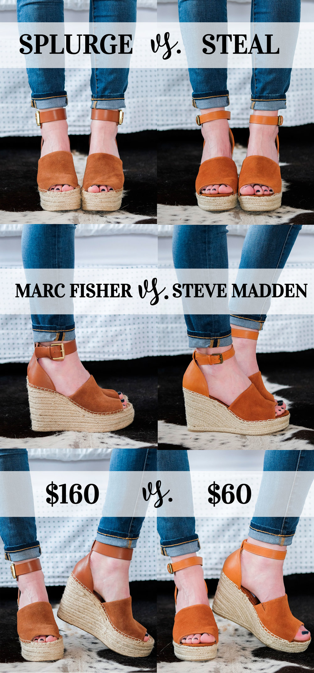 d6bfdfacb359 MARC FISHER  ADALYN  DUPES BY STEVE MADDEN FOR  60! — Me and Mr. Jones