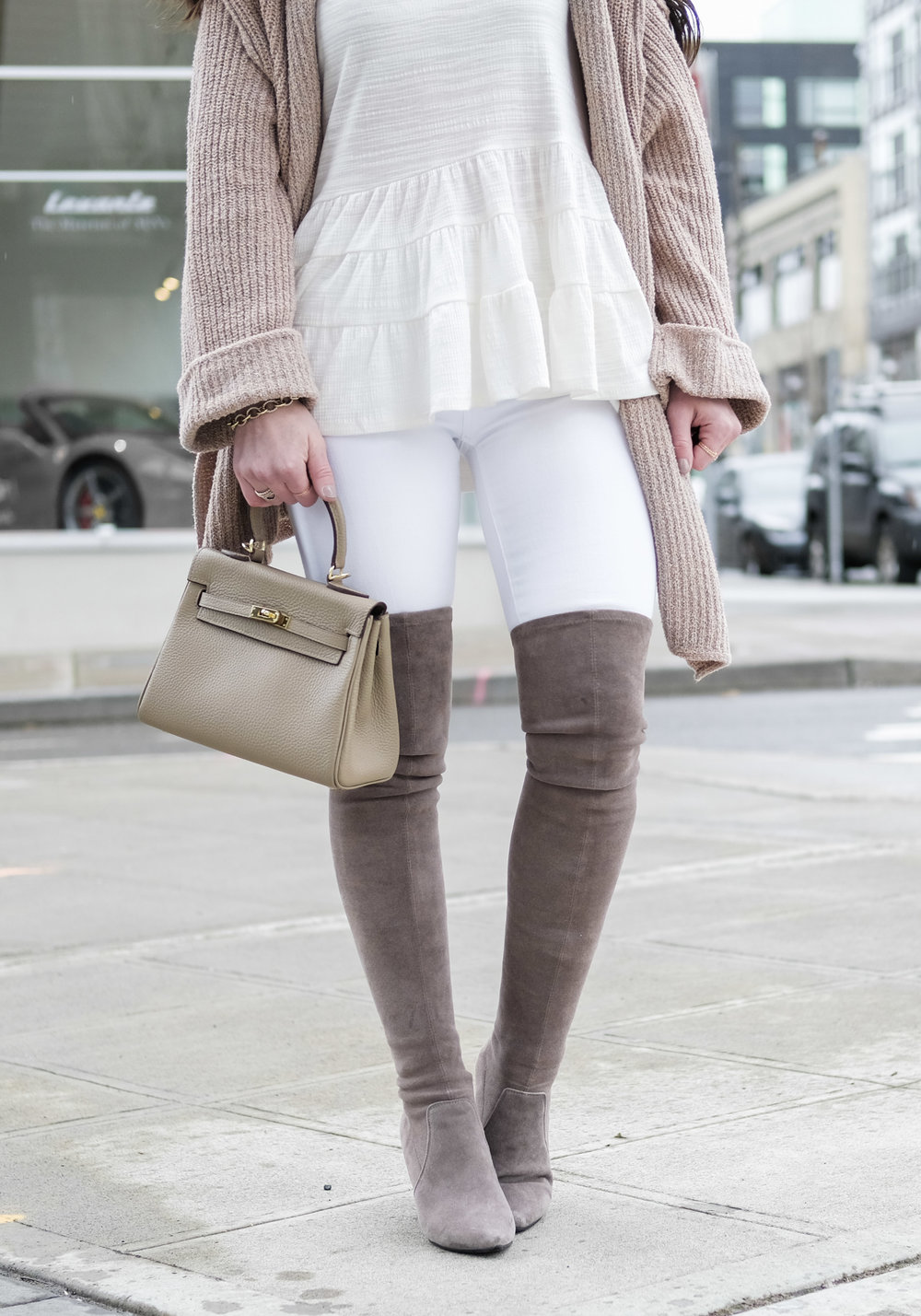 f1c982102d3 HOW TO WEAR OVER THE KNEE BOOTS IN THE SPRING — Me and Mr. Jones