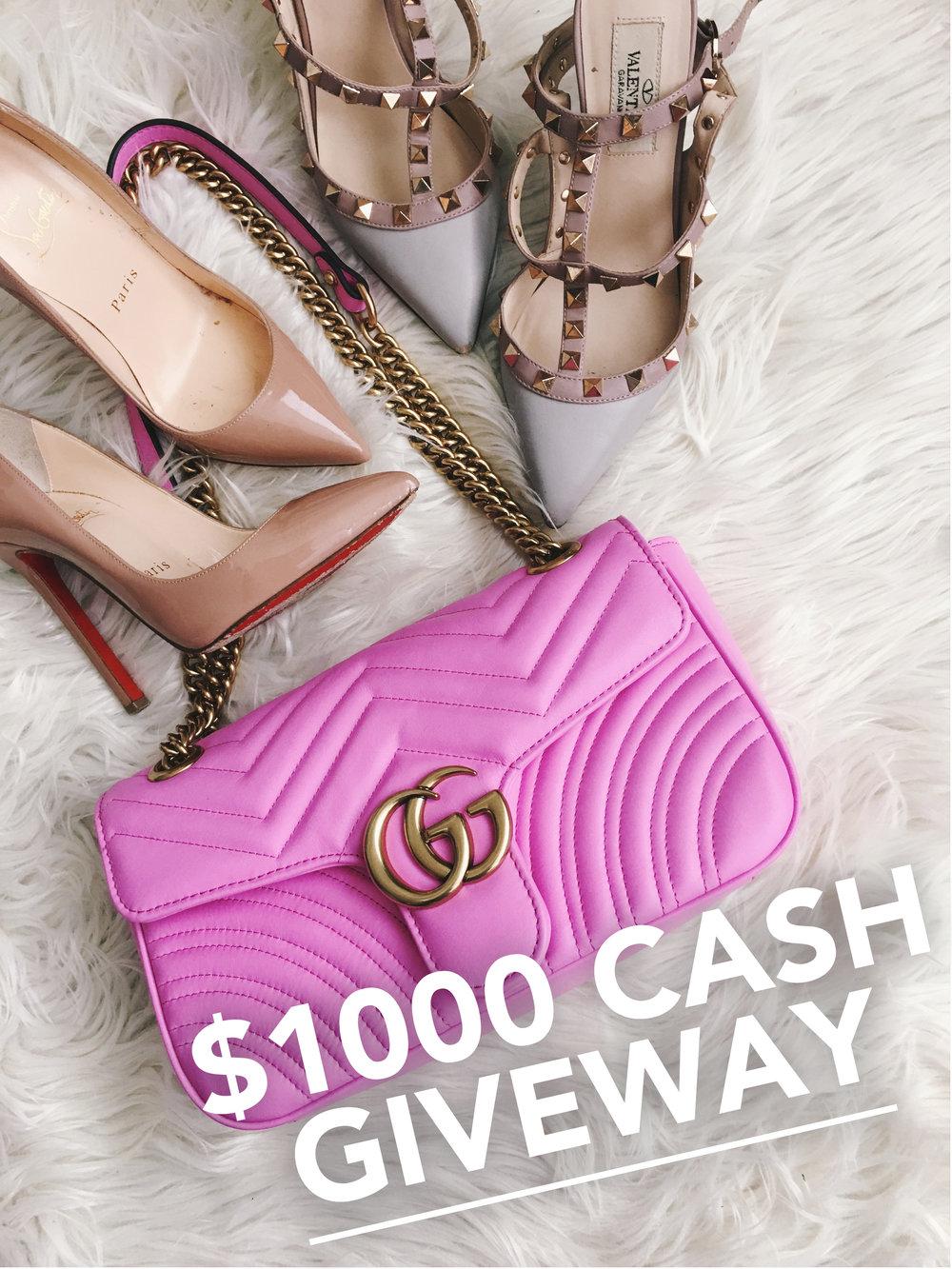 1k cash giveaway