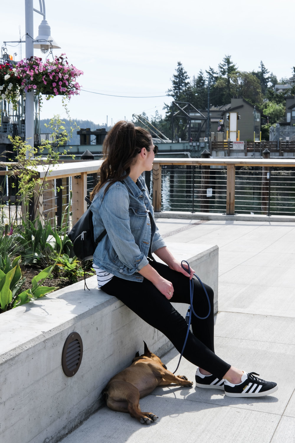 san juan islands washington_orcas island travel guide_what to do where to stay in san juan islands washington_comfortable cute tavel shoes_black skinny jeans_adidas gazelle sneakers_j.crew denim jacket_rebecca minkoff medium julien backpack_01.jpg