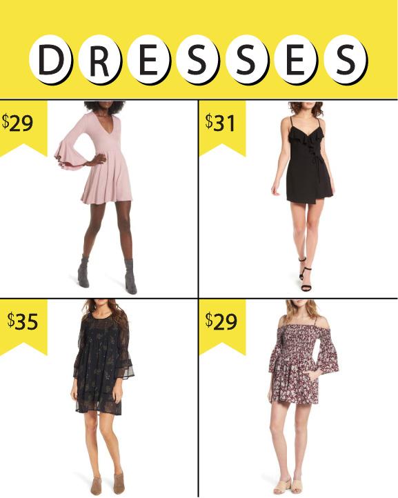 Nordstrom Anniversary Sale 2017_Women's Dresses N Sale