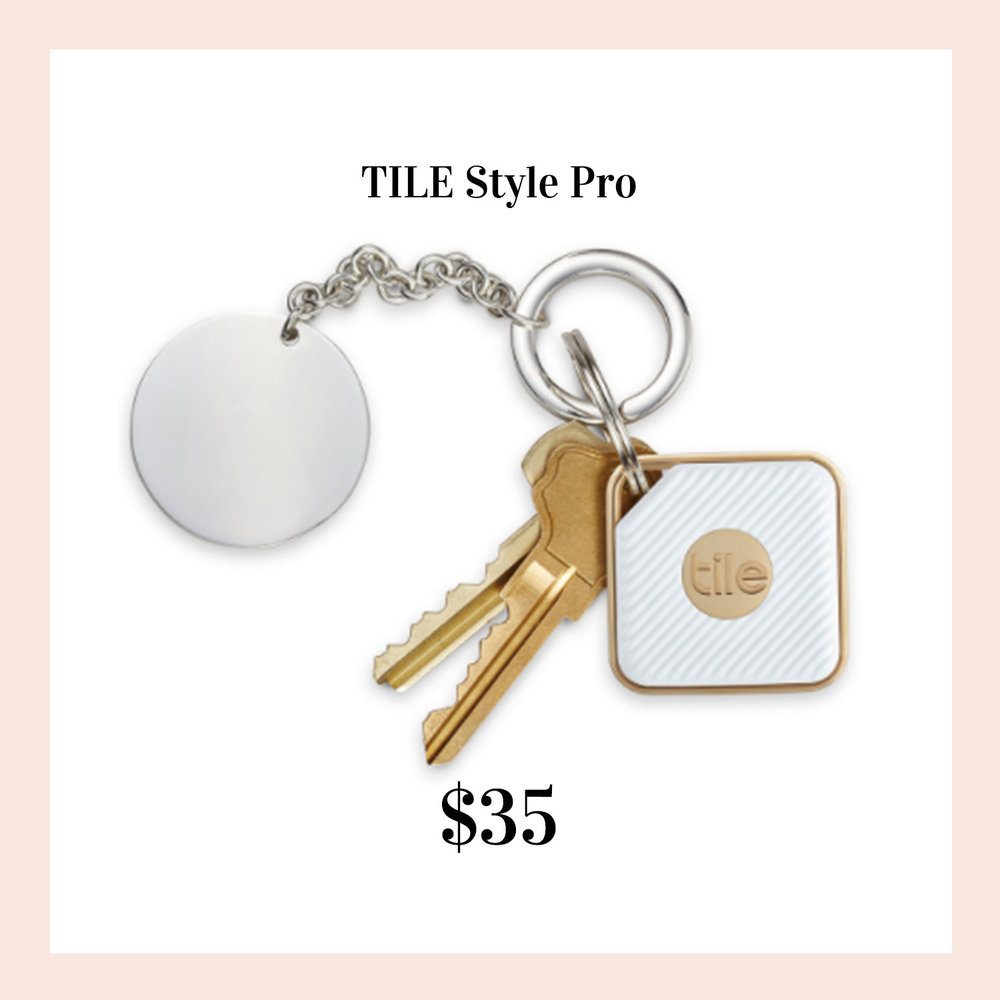 Favorite gifts for her.  Tile keychain.  Find your keys from your phone.
