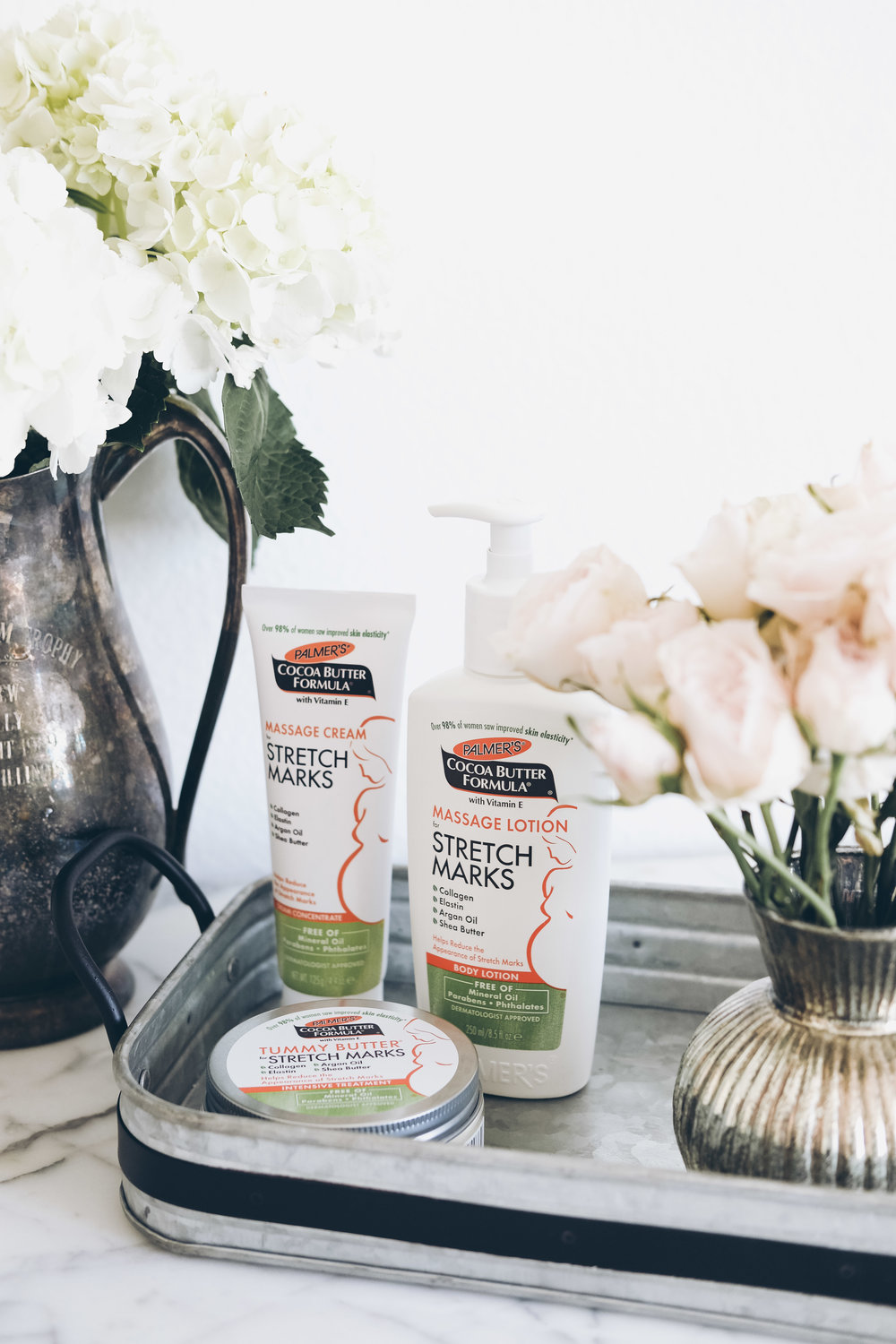 How to enjoy pregnancy even if you don't like being pregnant.  Tips for stretch marks and the best stretch mark cream for pregnancy.