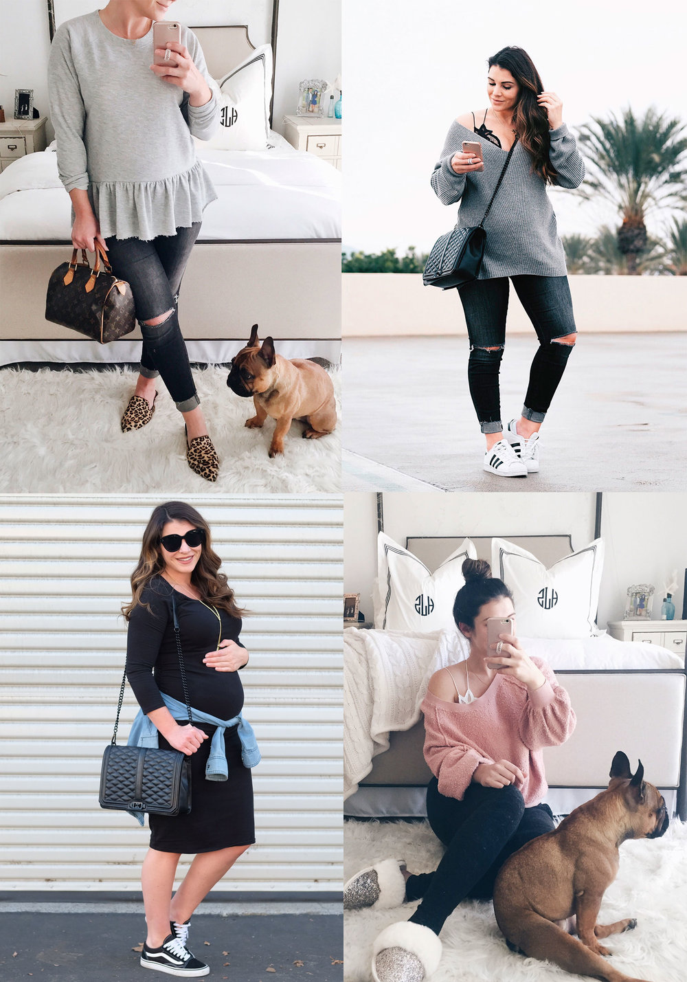 SECOND TRIMESTER MATERNITY OUTFITS