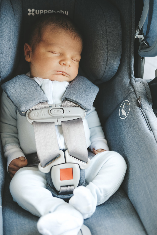 Newborn essentials.  Uppababy Mesa car seat in Henry.