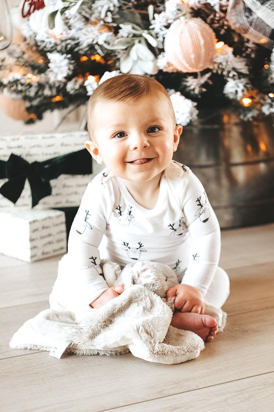 Jett Jones.  Baby boy winter style.