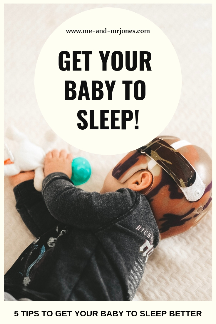 How to get your baby to sleep through the night.