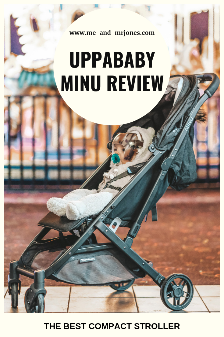 Uppababy MINU review.  The best compact stroller for travel.