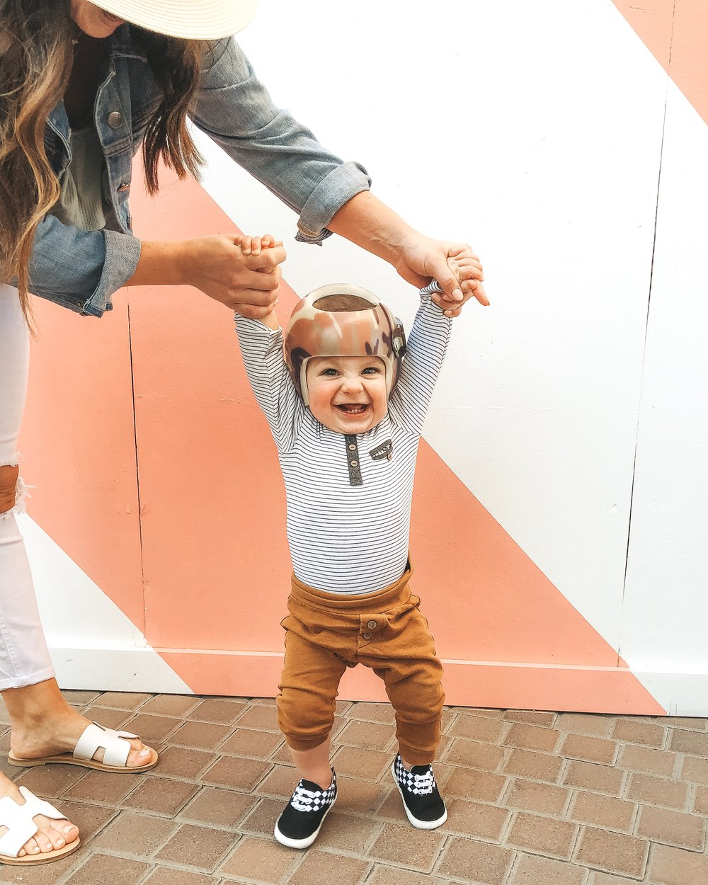 Jett Jones 11 Month Milestones. Cute baby boy clothes. Vans crib shoes for baby boy.