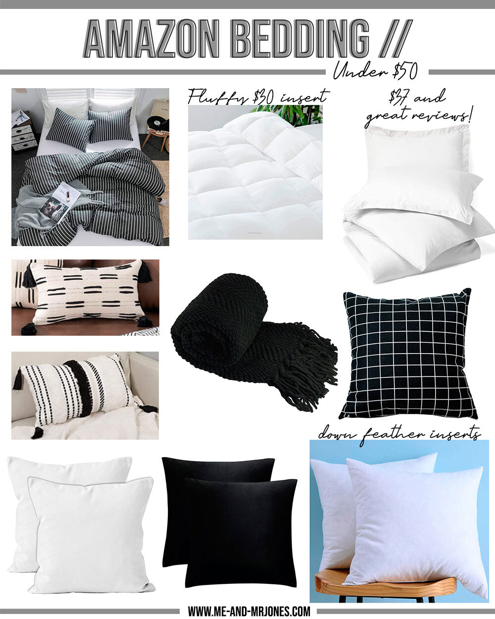 How To Make Amazon Bedding Look Expensive Me And Mr Jones
